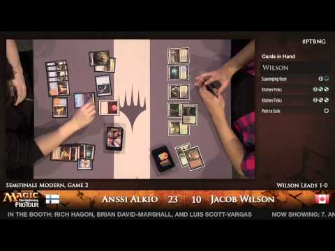 Pro Tour Born of the Gods - Semifinal - Anssi Alkio vs. Jacob Wilson