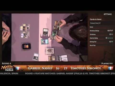 Pro Tour Born of the Gods - Modern Rd. 4 - Hall of Famer Gabriel Nassif vs. Timothee Simonot