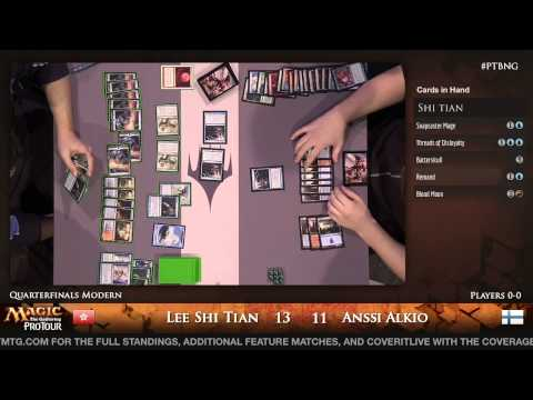 Pro Tour Born of the Gods - Quarterfinal - Anssi Alkio vs. Lee Shi Tian