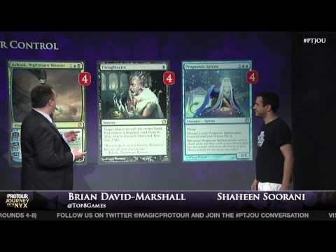 Pro Tour Journey into Nyx Deck Tech - Esper Control with Shaheen Soorani