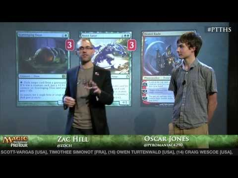 Pro Tour Theros - Deck Tech Green / Red Midrange with Oscar Jones