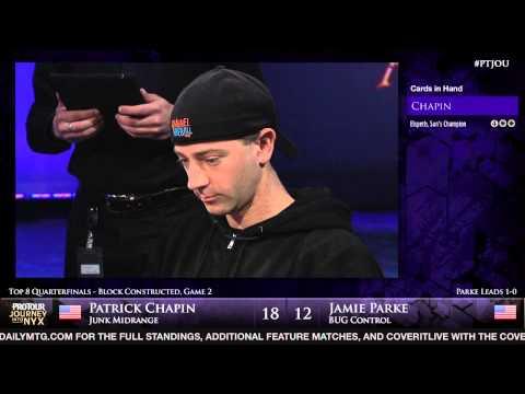 Pro Tour Journey into Nyx - Quarterfinal - Patrick Chapin vs. Jamie Parke