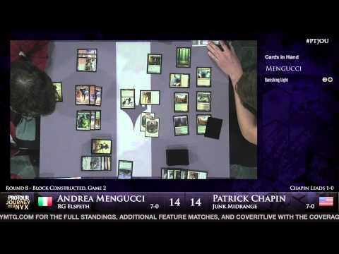 Pro Tour Journey into Nyx - Round 8 (Block) - Patrick Chapin vs. Andrea Mengucci