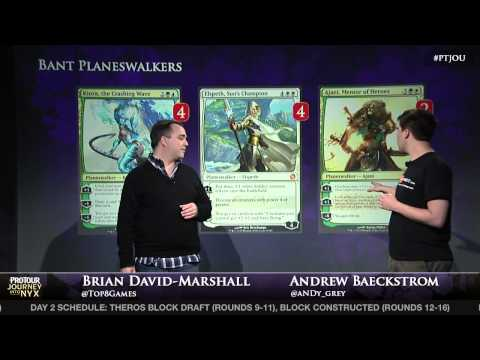 Pro Tour Journey into Nyx Deck Tech - Andrew Baeckstrom with Bant Planeswalkers