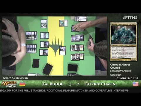 Pro Tour Theros - Standard Round 14 - (HOF) Kai Budde vs. (HOF) Patrick Chapin