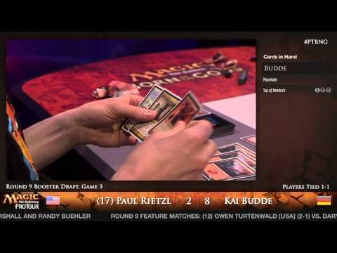 Pro Tour Born of the Gods - Draft Rd. 9 - (12) Owen Turtenwald vs. Daryl Ayers