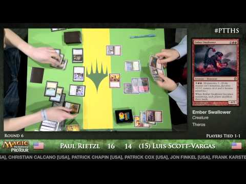 Pro Tour Theros - Standard Round 6 - Paul Rietzl vs. (15) Luis Scott-Vargas