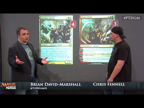 Pro Tour Dragon's Maze Deck Tech: San Diego Zoo with Chris Fennell
