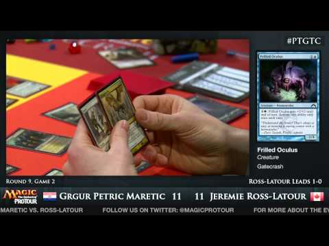 Pro Tour Gatecrash - Round 9: Grgur Petric Maretic vs. Jeremie Ross-Latour