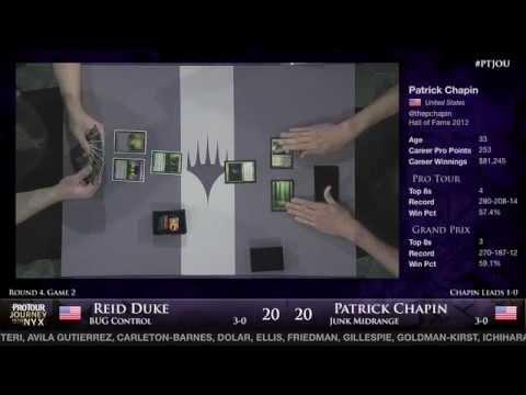 Pro Tour Journey into Nyx - Round 4 (Block) - Reid Duke vs. Patrick Chapin