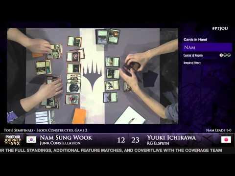 Pro Tour Journey into Nyx - Semifinal - Nam Sung Wook vs. Yuuki Ichikawa