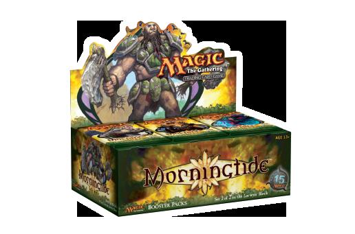 MORNINGTIDE CARD DIVIDERS SET FATCORY SEALED magic MTG