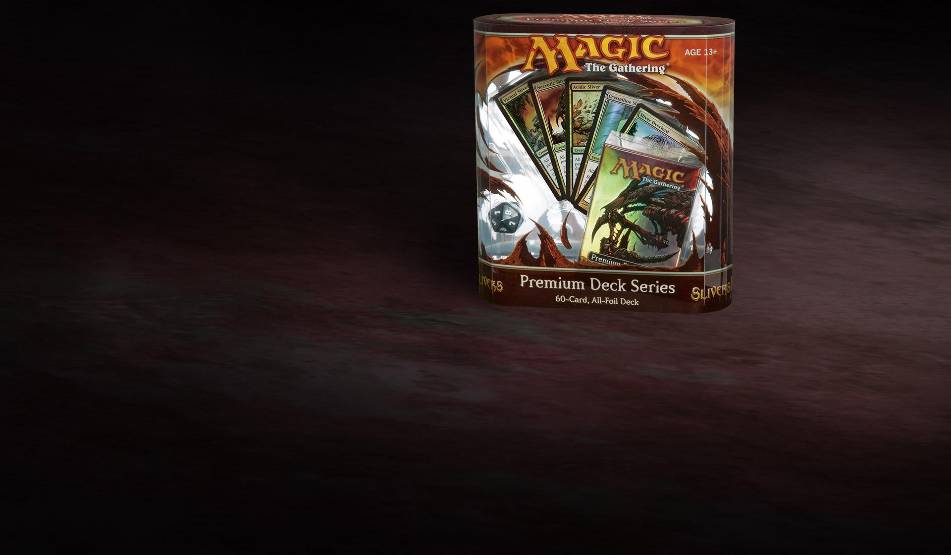 eng foil blazon-coat of arms mtg magic premium deck series slivers * mrm