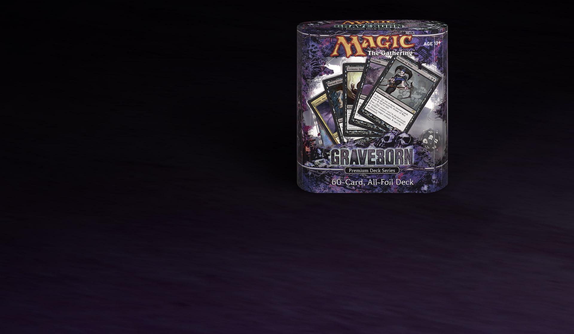 Sickening Dreams Sorcery FOIL Premium Deck Series:Graveborn #18//2011 LOT OF 2