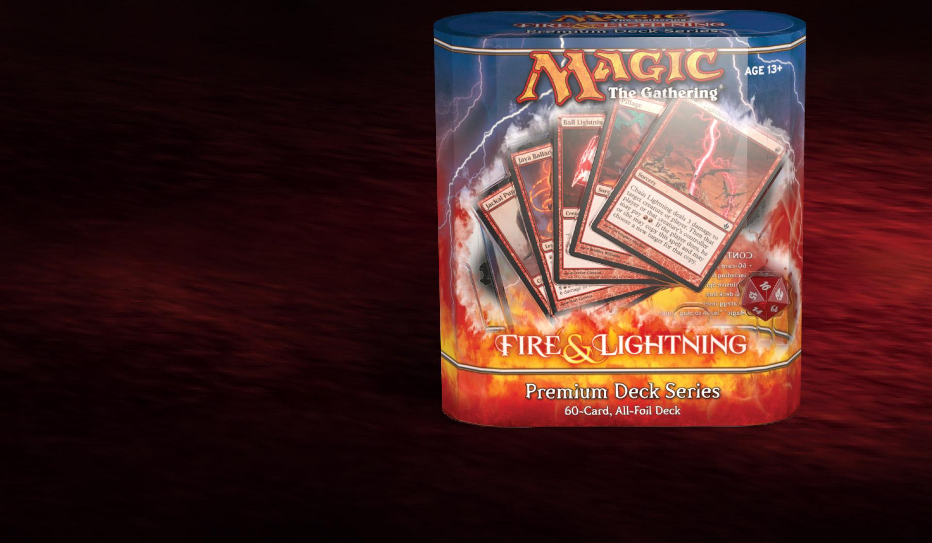 Magic MTG Excellent+ FOIL Figure of Destiny ~ Fire /& Lightning