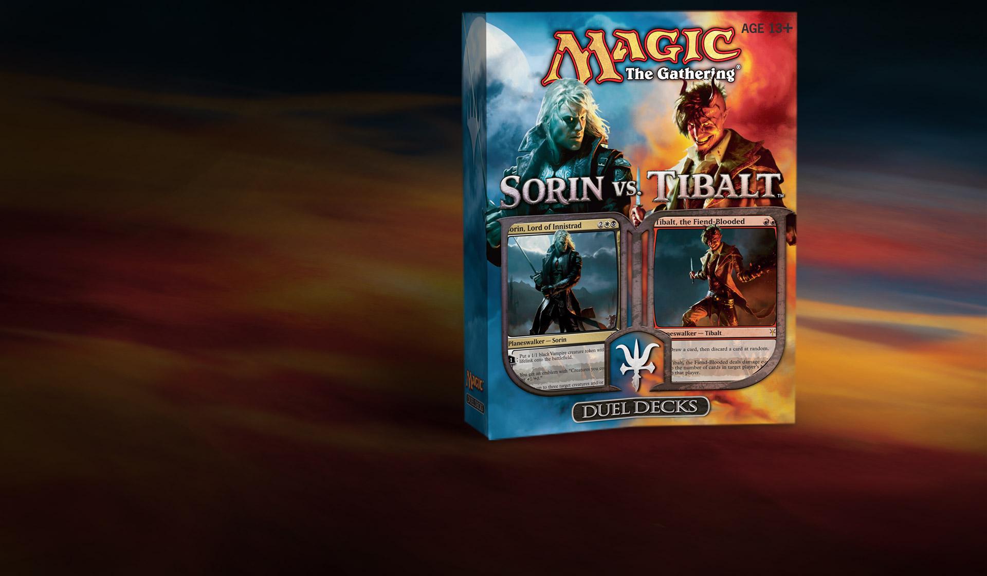 Magic the Gathering MTG Browbeat DD Sorin vs Tibalt   LP