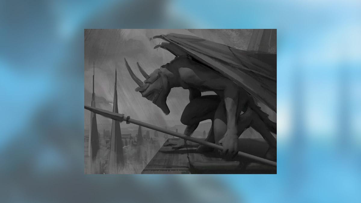 Thraben Gargoyle - Concept