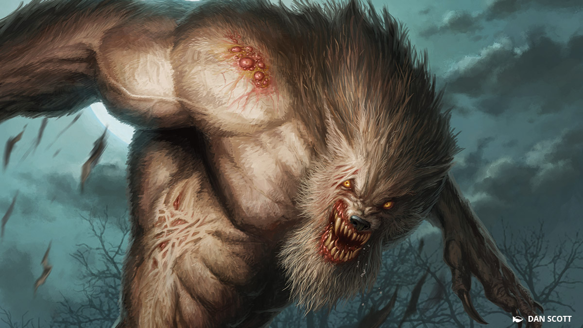 岩だらけの峰と崖に挟まれた森林地帯、それがナッターノールズです。狼男と錯乱した隠者がこの地を放浪しています--時には両方を兼ねる者が。