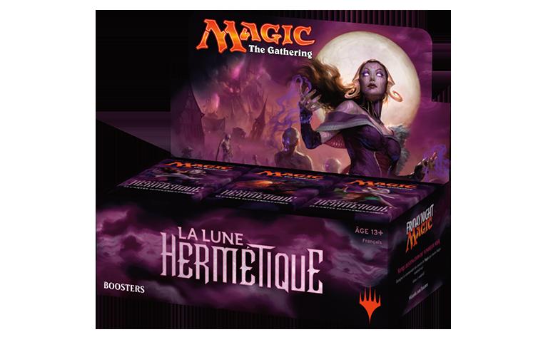 Scellé MTG Magic Français Boîte 36 boosters La Lune Hermétique