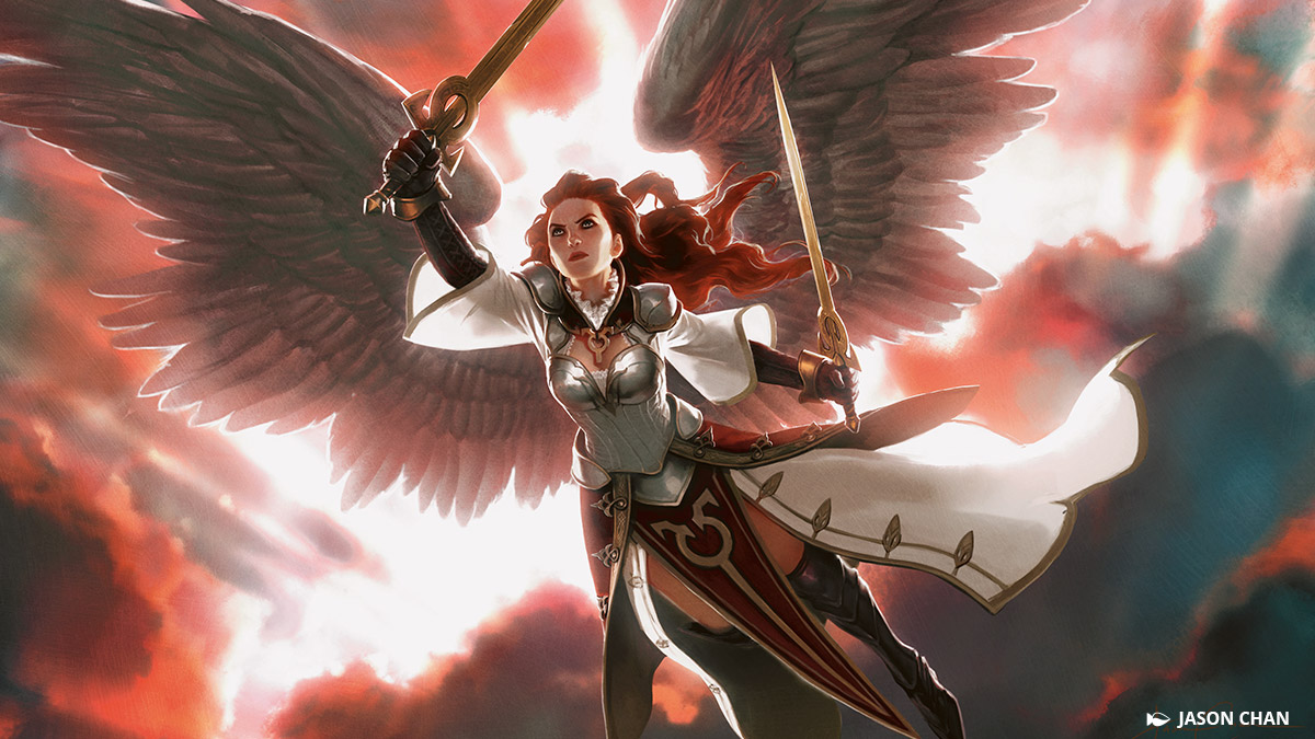 黄金夜飛行隊の長として、天使ギセラはネファリアにて戦天使の軍勢を率いています。獄庫からアヴァシンが帰還すると、彼女は屍術師やその死者の軍勢との聖戦を続ける任務を受け、熱狂と献身をもってその戦いに取り組んでいました。