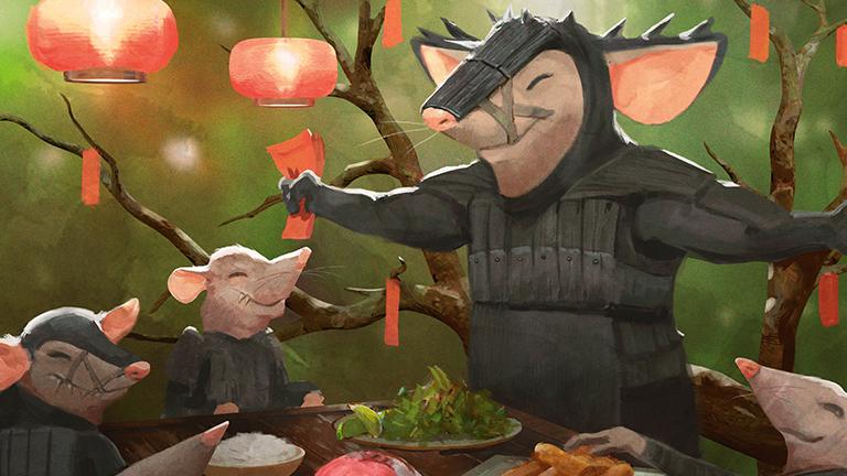 preview image for Gavin Verhey's No Longer Secret (Lair) Year of the Rat Commander Deck
