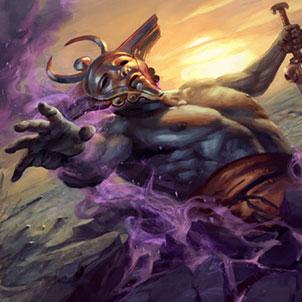 MTG Magic the Gathering Born of the Gods Underworld Herald Event Deck IN HAND!!