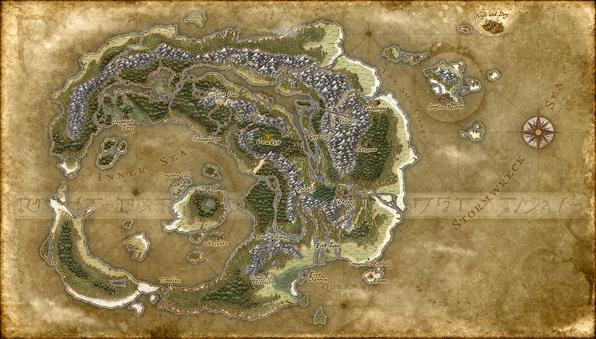 Ixalan Map Magic The Gathering